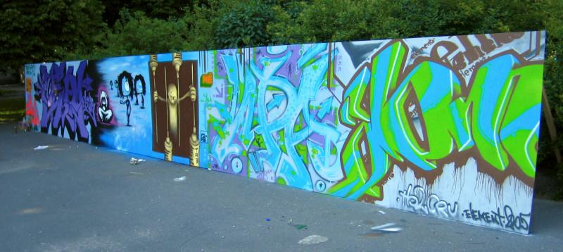 KY2, Saimis, TA3, Krys, Element , 2005 – Anti-drug fest