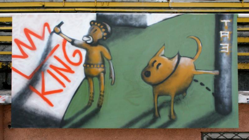 TA3, 2005 – King @ Gulbene town festival